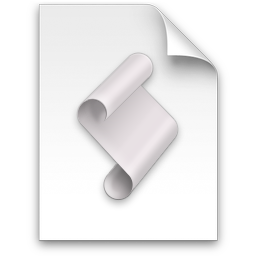 AppleScript Document Icon